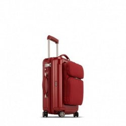Rimowa Salsa Deluxe Hybrid cabine rouge oriental 55 cm - 4 roues - 31 litres