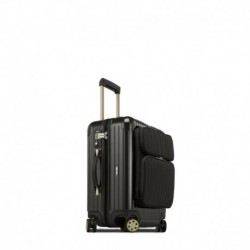 Rimowa Salsa Deluxe Hybrid cabine business marron granite brillant 56 cm - 4 roues - 46 litres