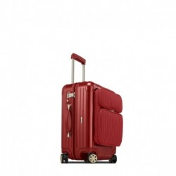 Rimowa Salsa Deluxe Hybrid cabine business rouge oriental 56 cm - 4 roues - 46 litres