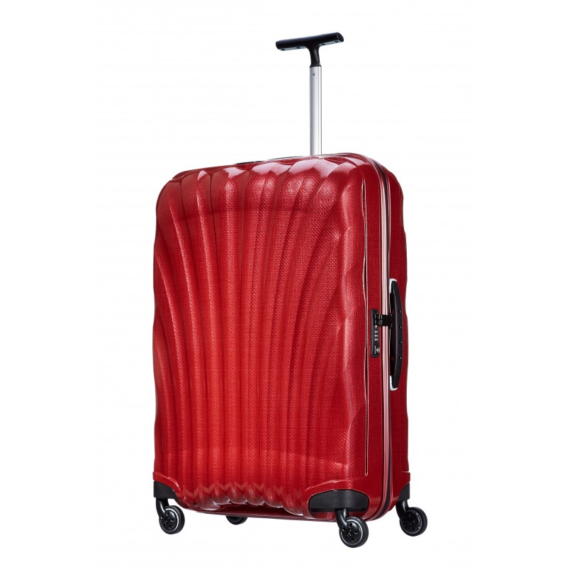 valise samsonite cosmolite spinner rouge 53451 1726. Black Bedroom Furniture Sets. Home Design Ideas