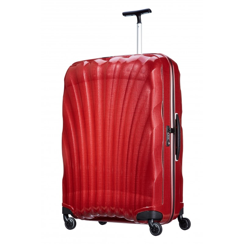 valise samsonite cosmolite spinner rouge 53452 1726. Black Bedroom Furniture Sets. Home Design Ideas