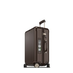 Rimowa Salsa Deluxe Electronic Tag marron brillant 67 cm - 4 roues - 62,5 litres