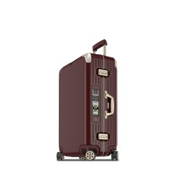 Rimowa Limbo Electronic Tag rouge carmen 74 cm - 4 roues - 72,5 litres