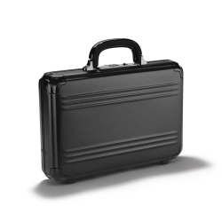 ZERO HALLIBURTON Pursuit Attaché case S aluminium noir mat 10 litres