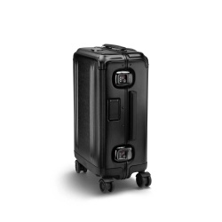 ZERO HALLIBURTON Pursuit - Valise Cabine Internationale aluminium noir mat 55 cm - 32 litres