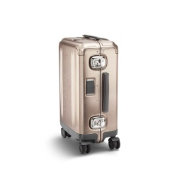 ZERO HALLIBURTON Pursuit - Valise Cabine Internationale aluminium bronze 55 cm - 32 litres