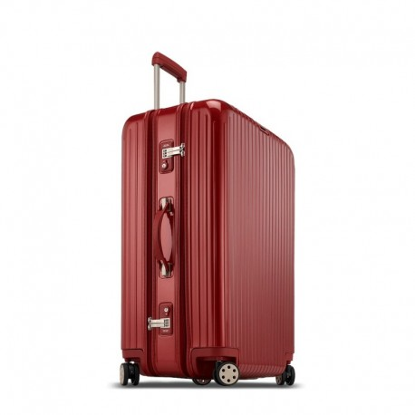 Rimowa Salsa Deluxe 3-Suiter rouge oriental 81 cm - 4 roues - 128 litres